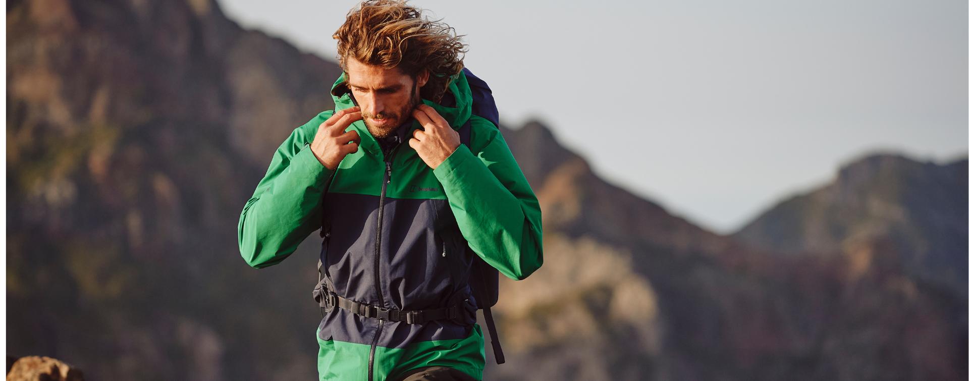 Chaquetas impermeables para Hombre I  Tienda online oficial Berghaus®